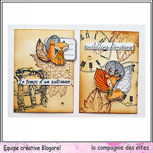Cartes créatives de Novembre. Blogo299