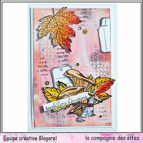 Cartes créatives d'Octobre. Blogo301