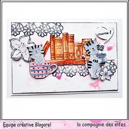 Cartes créatives d'Octobre. Blogo305