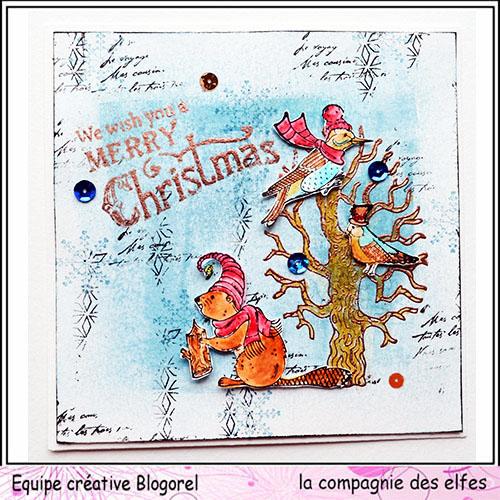 Cartes créatives de Novembre. Blogo306