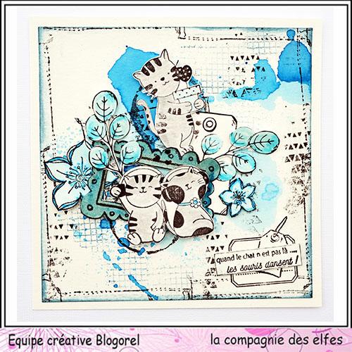 Cartes créatives d'Octobre. Blogo315