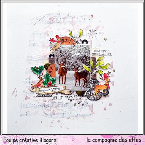 le 16 décembre sketch carte ou page Blogo317