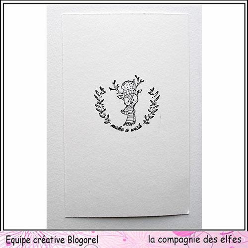 Tuto carte de voeux par Blogorel. Blogo332