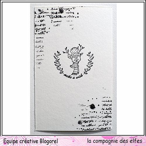 Tuto carte de voeux par Blogorel. Blogo333