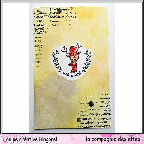 Tuto carte de voeux par Blogorel. Blogo335