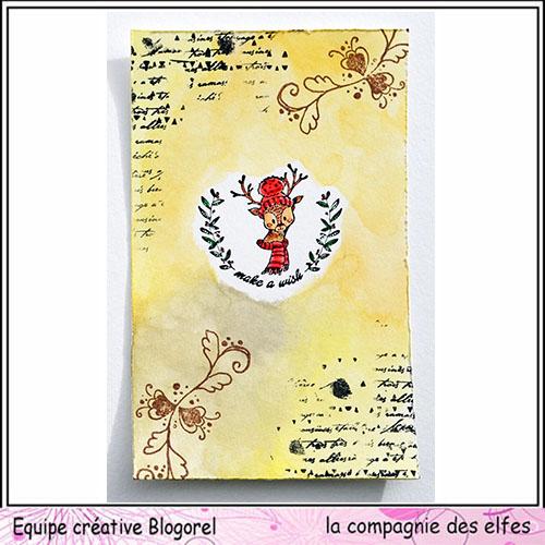 Tuto carte de voeux par Blogorel. Blogo337