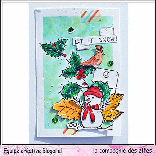 Cartes créatives Décembre 2019. Blogo339
