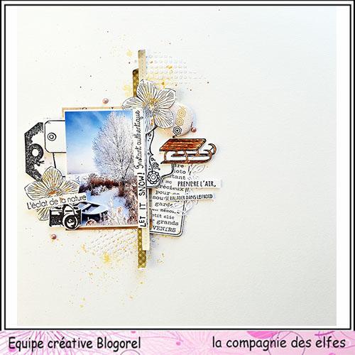 Pages en scrap Janvier 2020. Blogo392