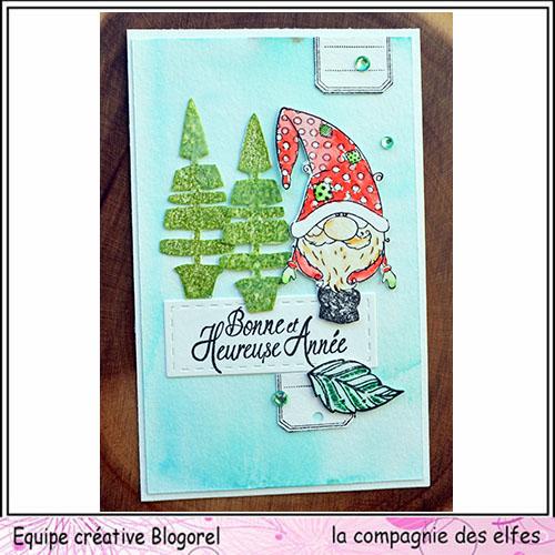 Cartes créatives de Décembre 2018. Blogor53
