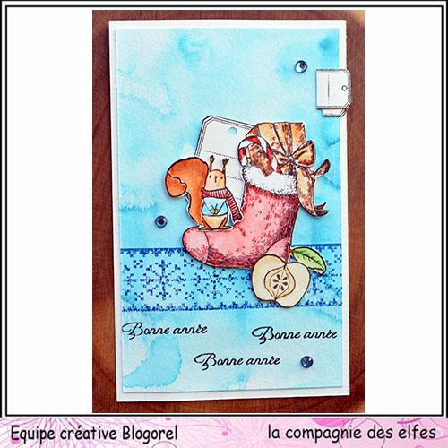 Cartes créatives Janvier 2019 Blogor68
