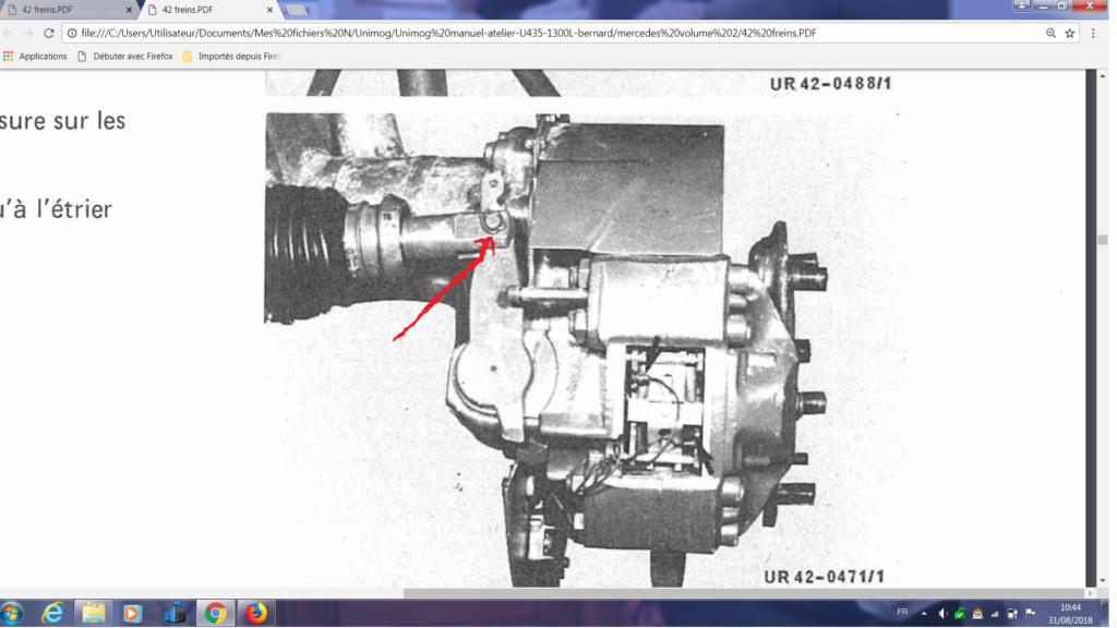 Cylindre a ressot, frein de parcage U1300L Cylind10