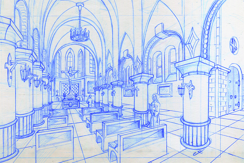 Dessin traditionnel et perspective - Page 4 Crobar13
