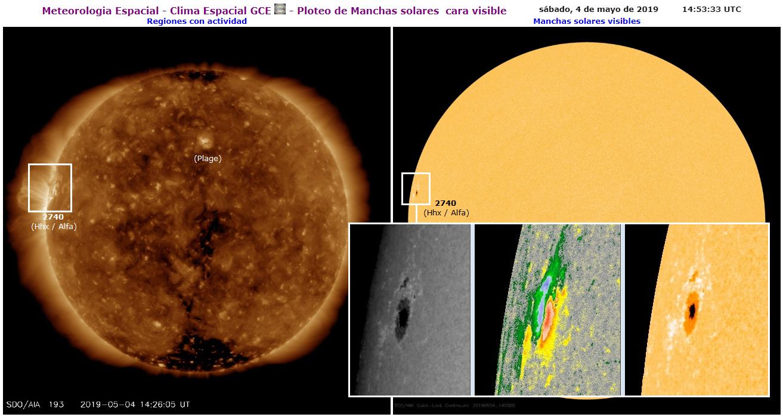 Monitoreo de la actividad solar 2019 - Página 2 20190511