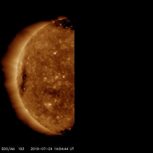 Monitoreo de la Actividad Solar 2019 20190714