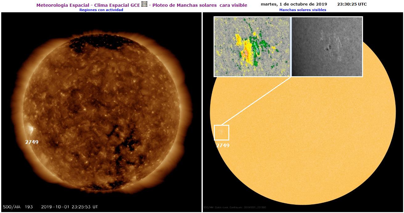 Monitoreo de la Actividad Solar 2019 - Página 2 20191010