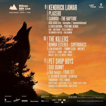 BBK LIVE 2020: 9-10-11 julio: Placebo nuevos confirmados! Kendrick Lamar, The Killers, Bad Bunny, Pet Shop Boys, Placebo, FKA Twigs y muchos más! - Página 2 A75b5f10