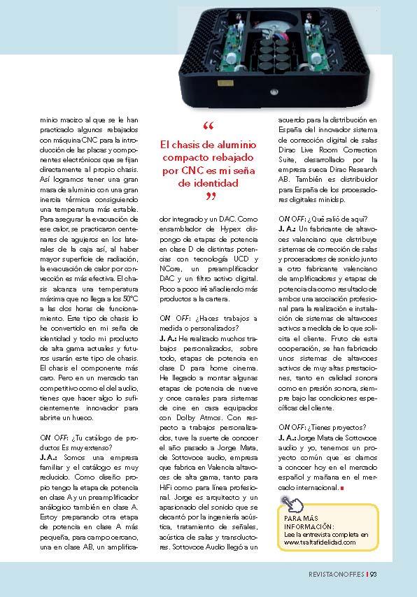 Acoustic technology mfg. Fabricación de equipos a medida. Valencia - Página 9 Onoffa11