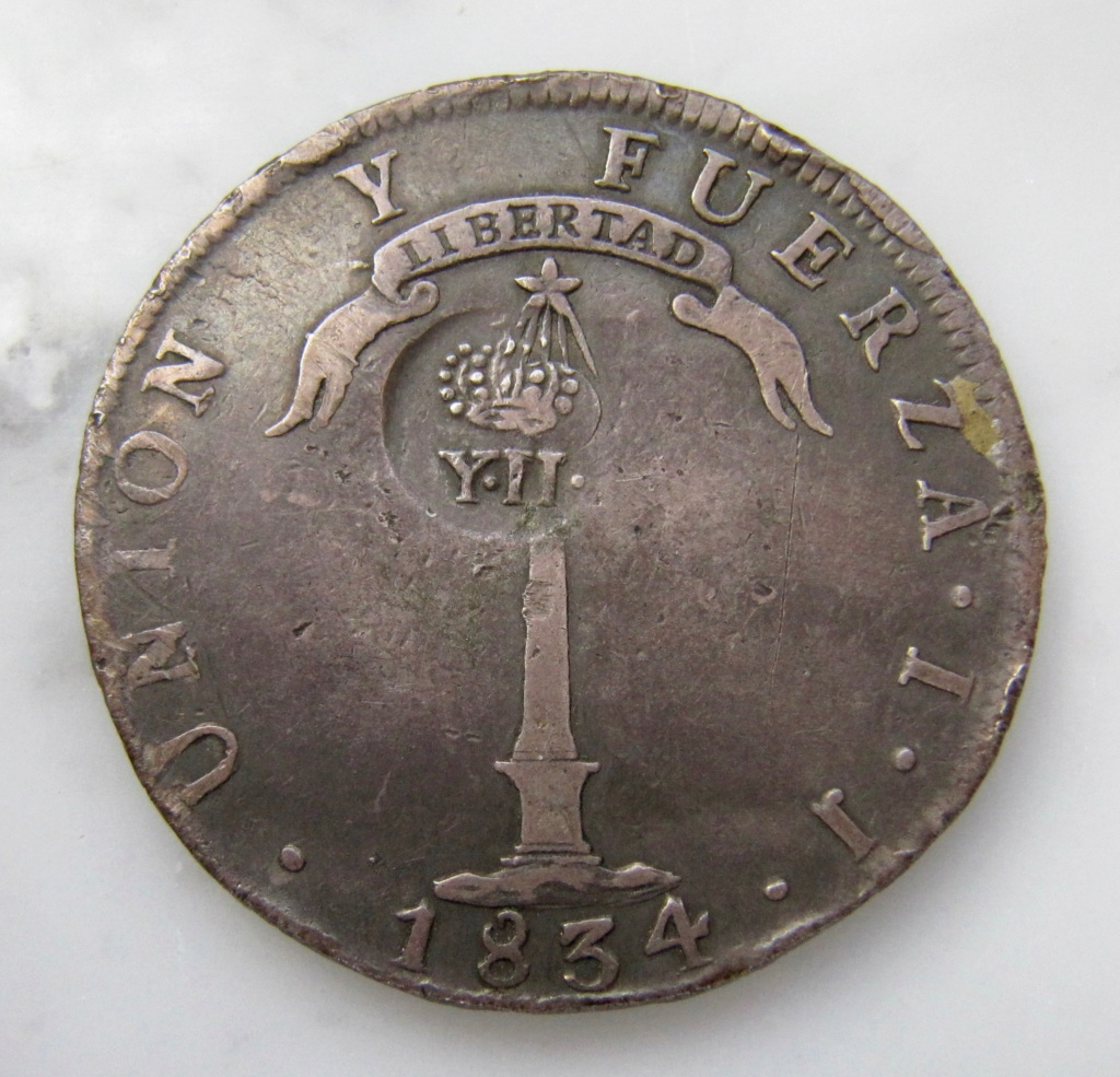 1 Peso de Chile - Resello de Isabel II, Manila, 1834-37 - Página 2 Chile_11