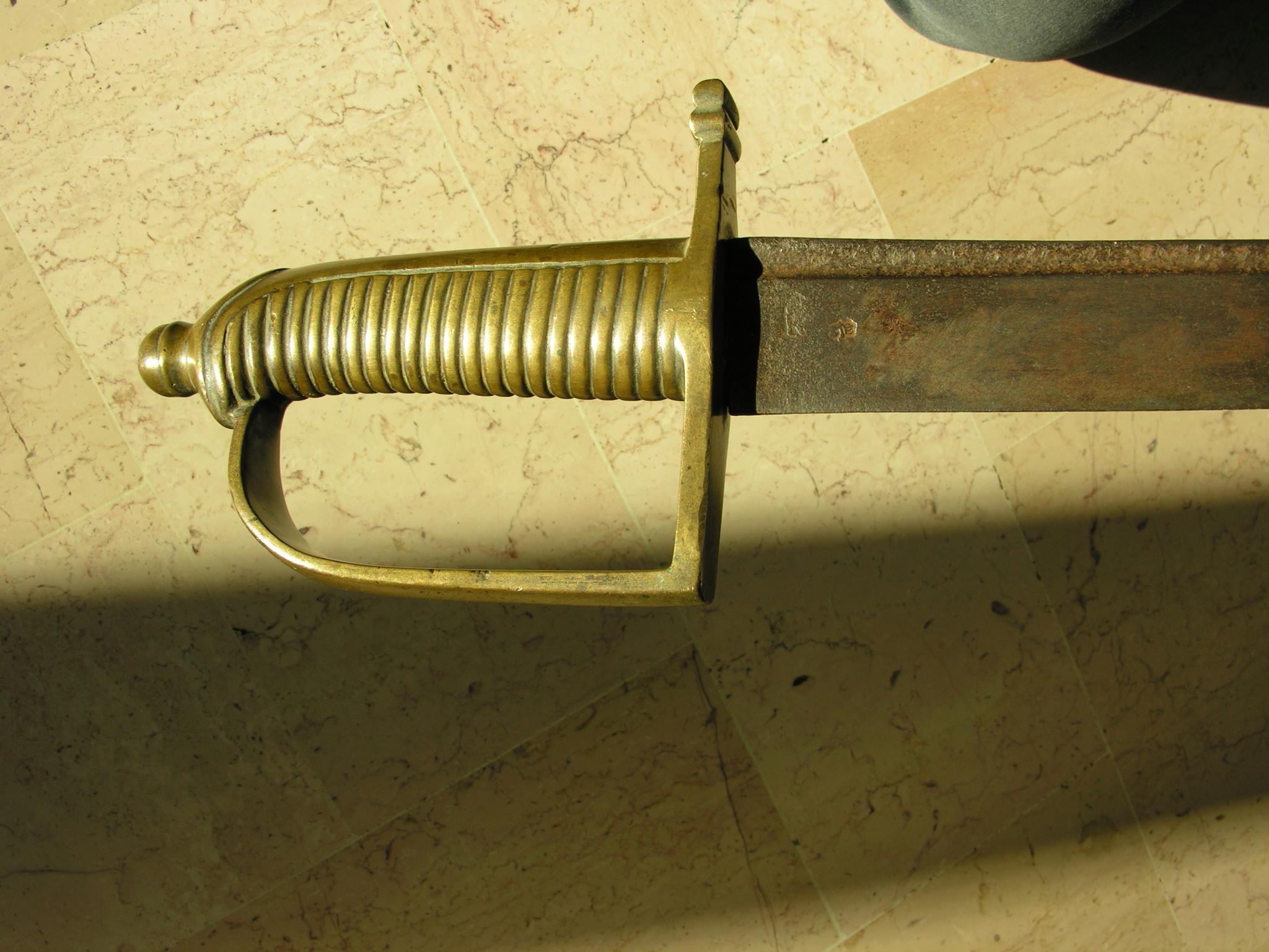 Les sabres briquets 1ère partie : les modèles 1767 et 1790 - Page 2 1_2110