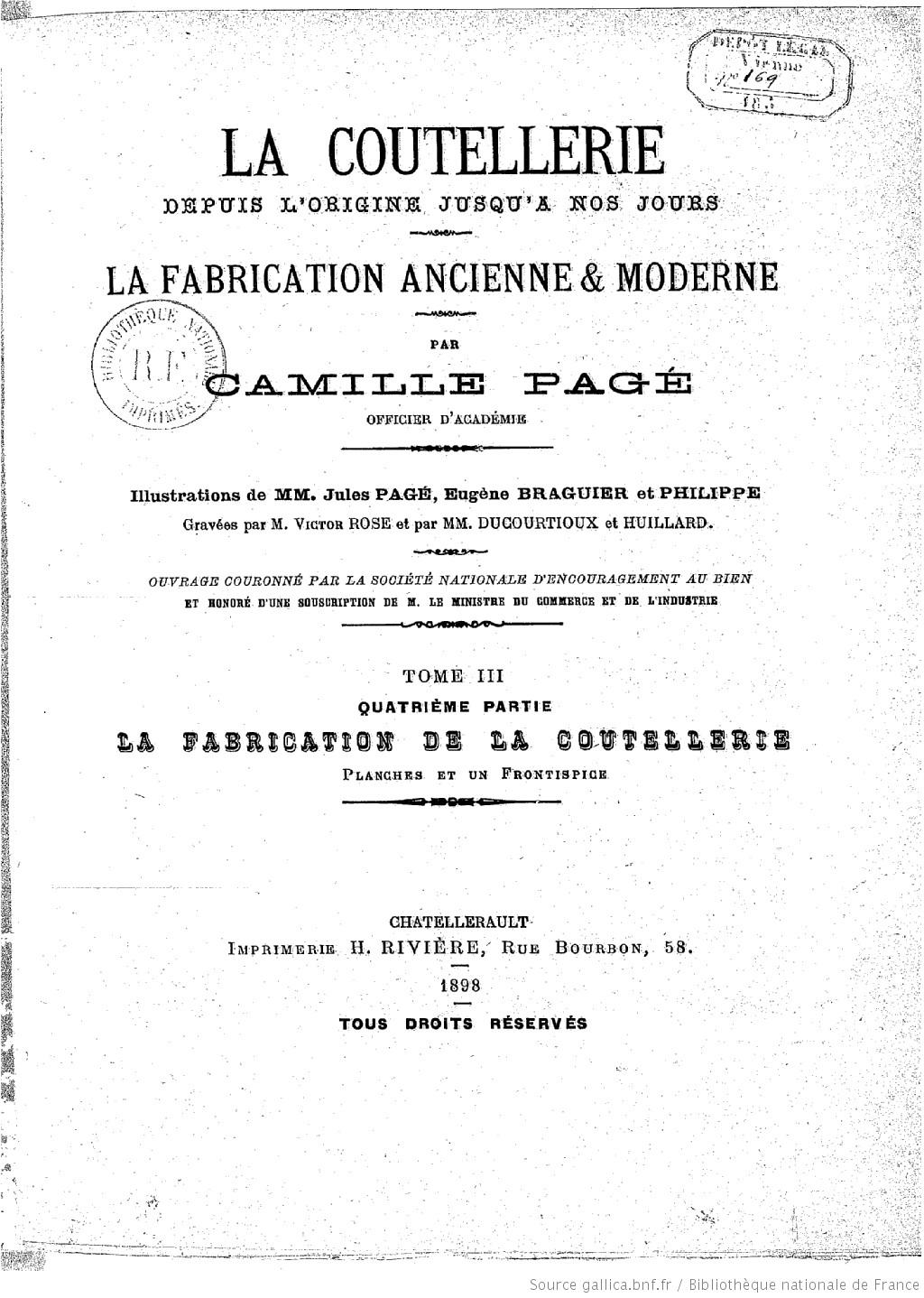 Marquage de lames sabres issus de Chatellerault 3_tome10