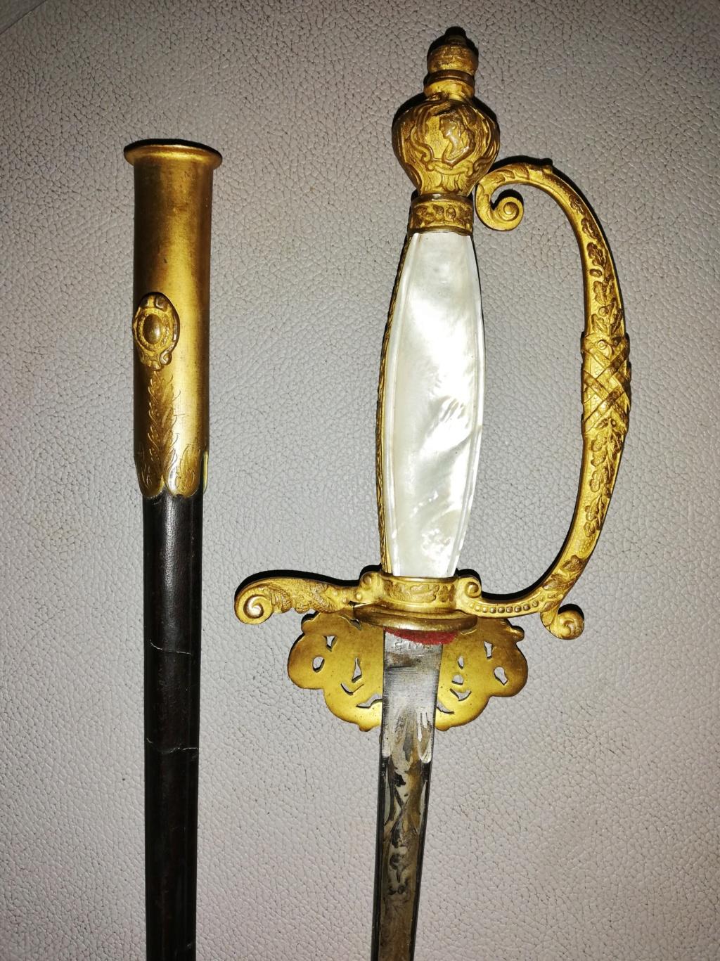 Epée de Préfêt ou de Diplomate  924