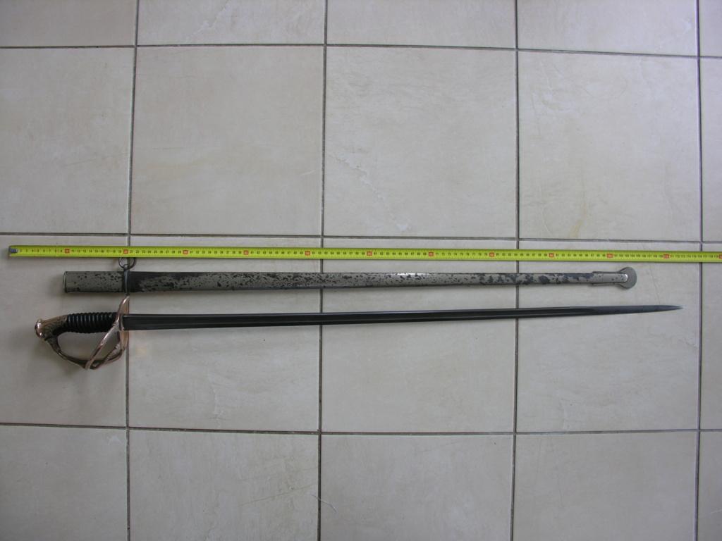 Un modèle injustement mésestimé : le sabre d'officier de cavalerie Mod 1882 - Page 2 Dscn0012
