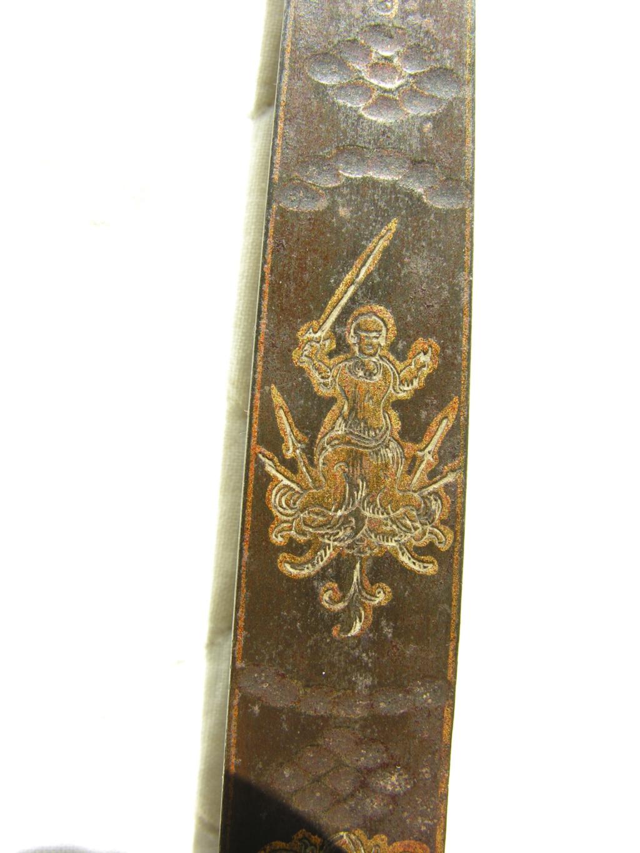 motif clavier épée Dscn9915