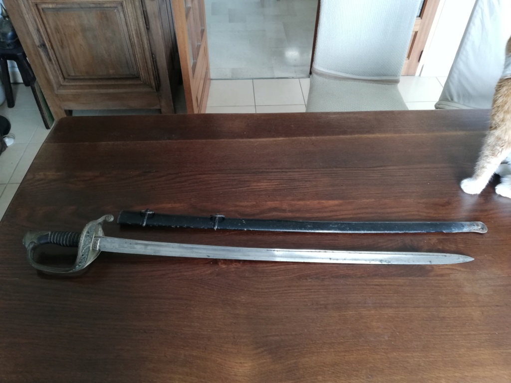 Marquage de lames sabres issus de Chatellerault Rassin11