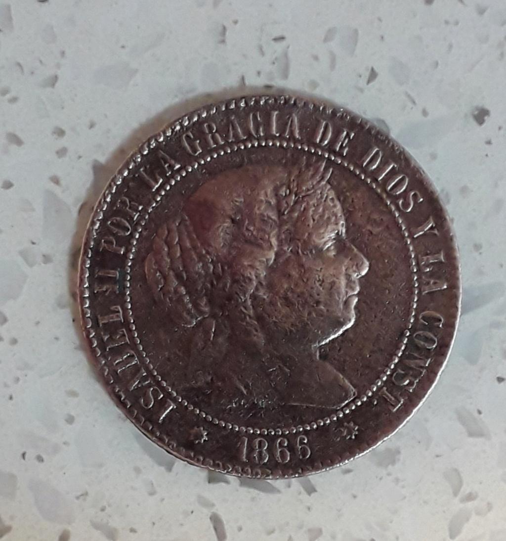 caca Isabel segunda 2 1/2 cents 20190115