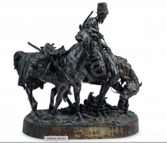 Sculpture bronze guerrier cosaque d' Eugène Lanceray  - Page 2 Captur95