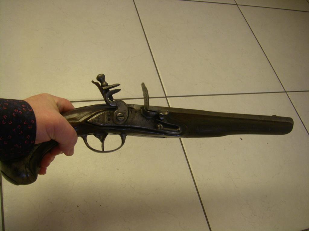 identification pistolet à silex prussien allemand autrichien ? sans baguette Imgp8922