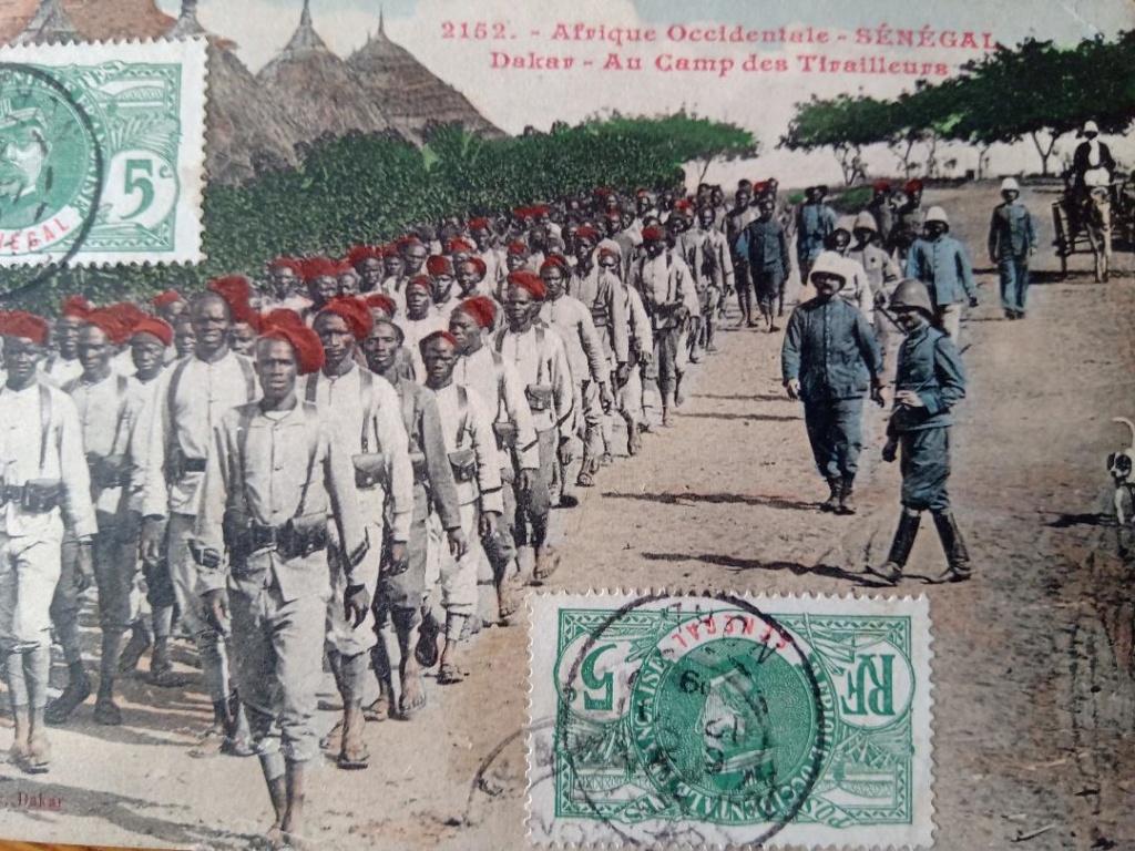 Le Coupe-coupe du Tirailleur Sénégalais. T110