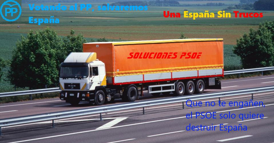 PP | Una España Sin Trucos Cartel10