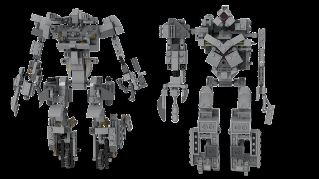 Customs de LeaderOptimus : le côté Lego - Page 2 Compar10