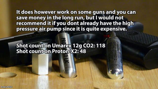 cartouche co2 12g rechargeable Proton11