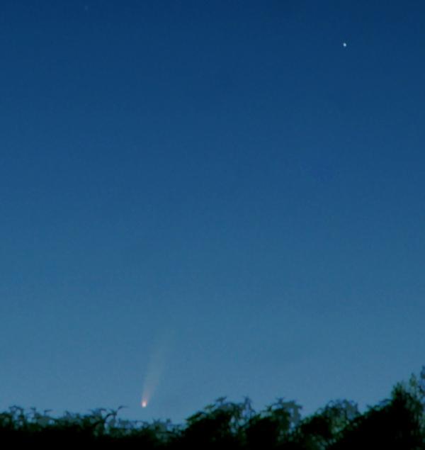 comète à l'horizon Neowis13