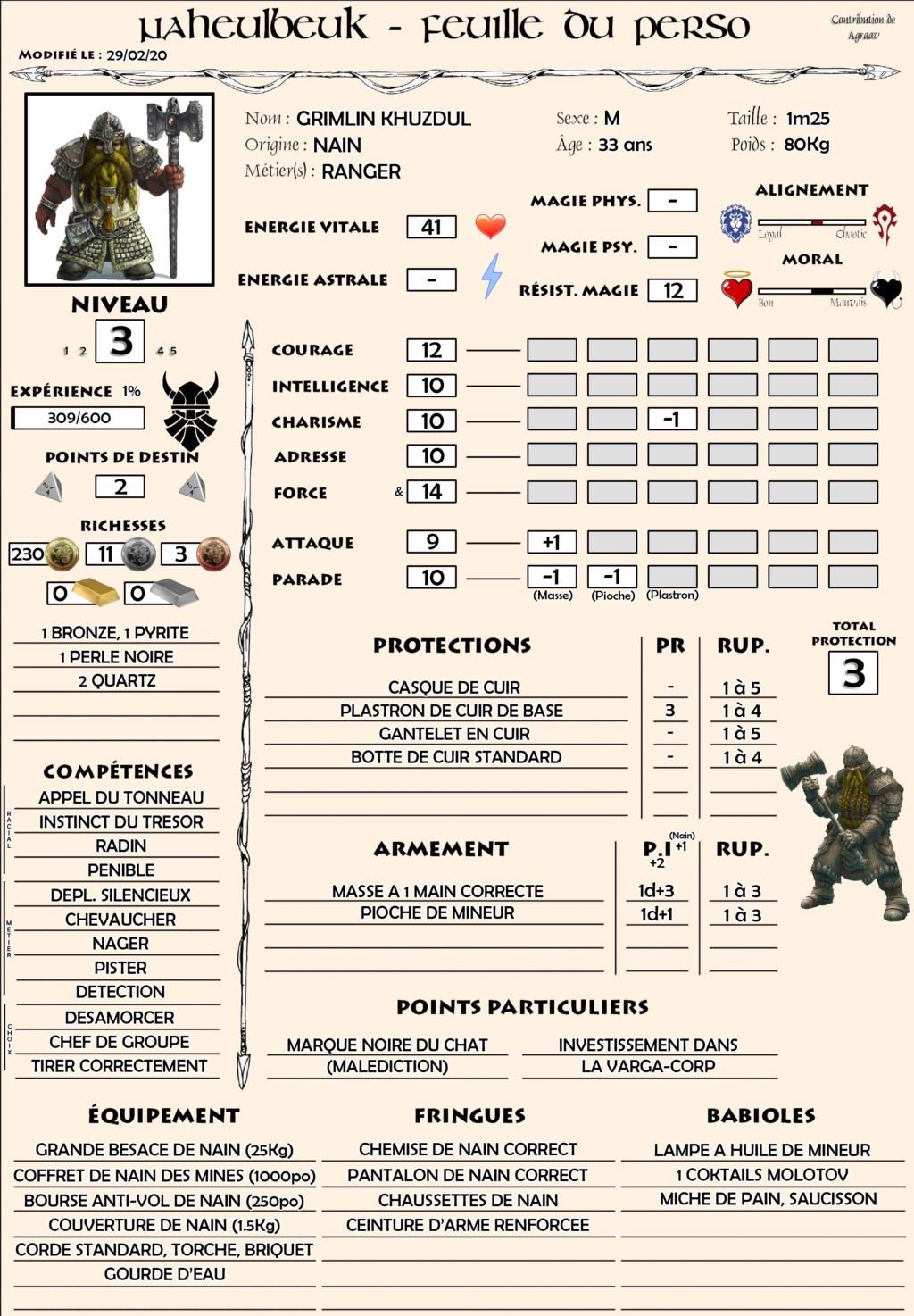 Grimlin, Nain Ranger Grimli10