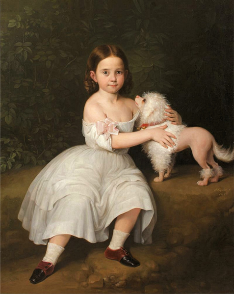 Historical Paintings of Poodles Antoni10