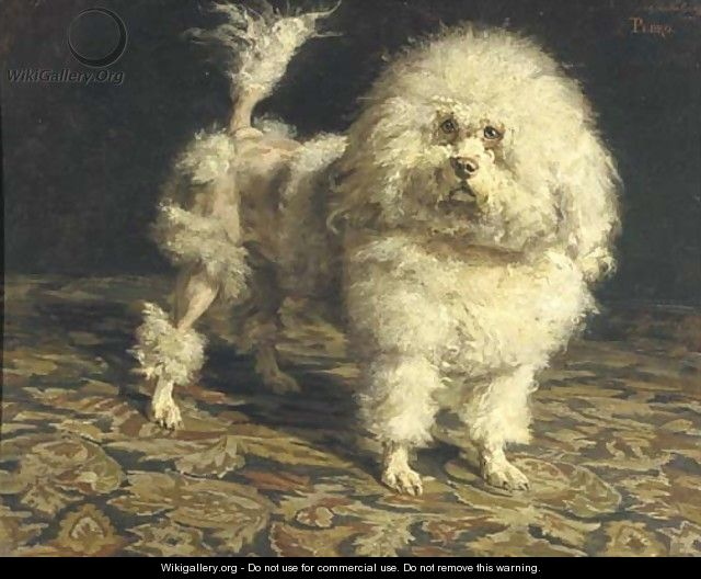 Historical Paintings of Poodles Pedro_11