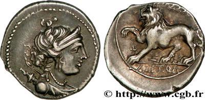 Petit bronze à Artemis. Grec ? Provincial ? 57517a10