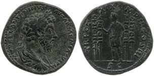 Rare sesterce de Marc Aurèle 5f961610
