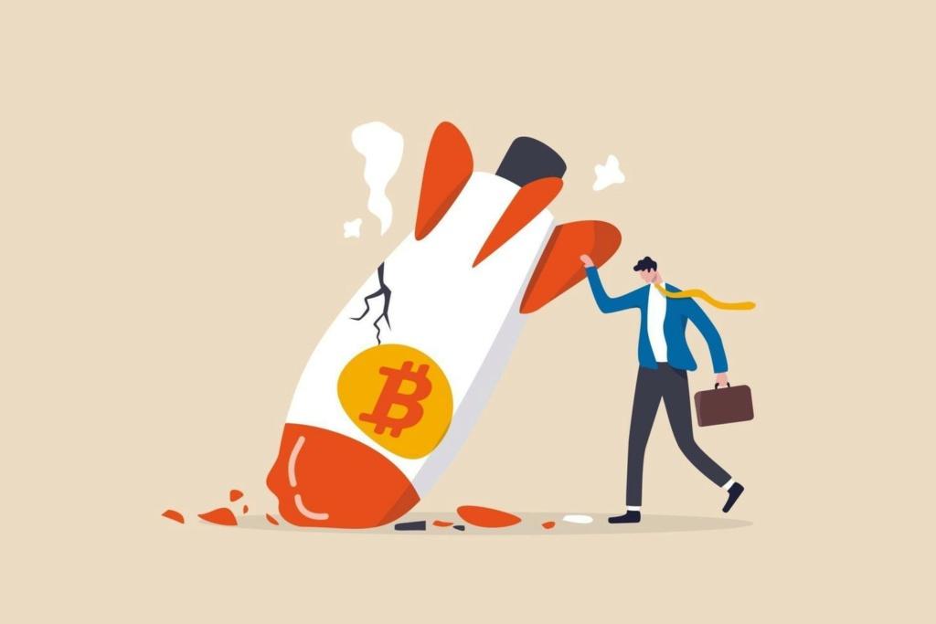 عملة بيتكوين تنهار وتفقد 500 مليار دولار في ليلة واحدة Bitcoi10