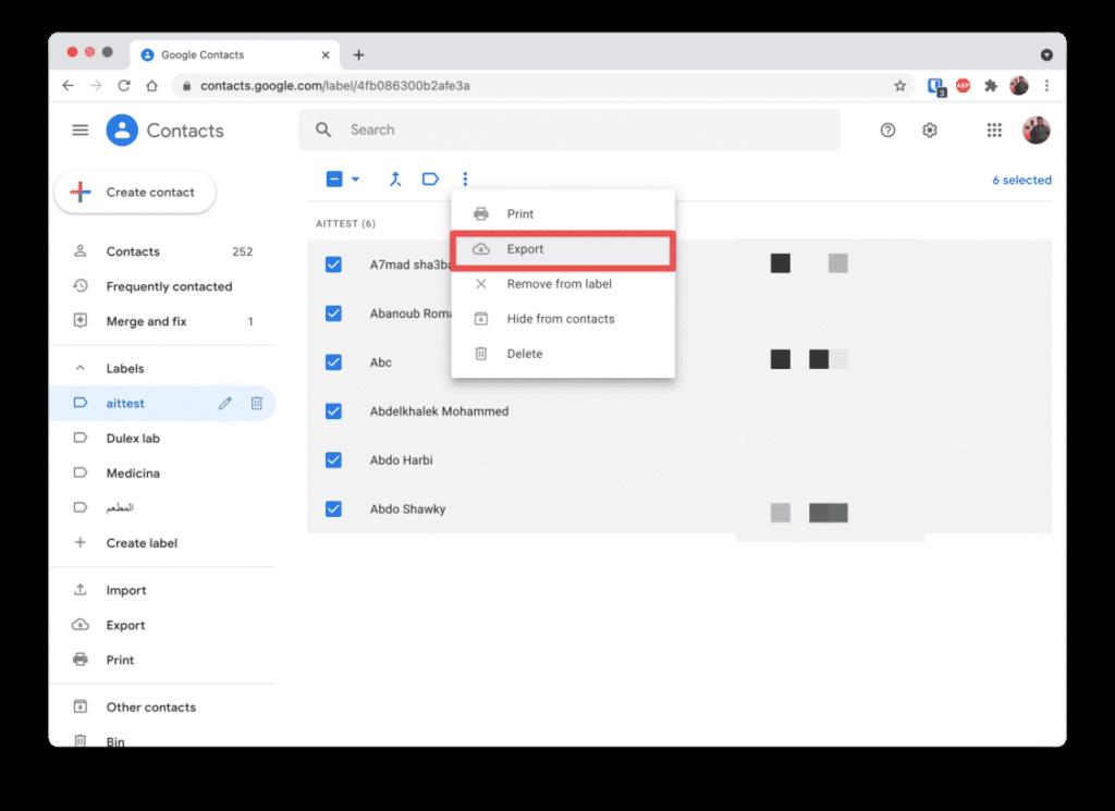 كيفية إخفاء جهات اتصال جوجل التي لا تستخدمها Cleans12