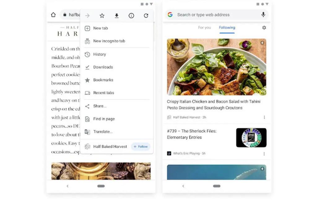 جوجل تعيد اكتشاف RSS عبر ميزة متابعة المواقع Google10