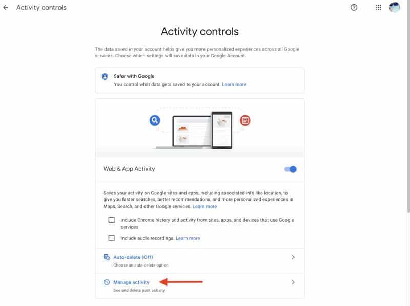 كيفية حماية سجل نشاطك في جوجل باستخدام كلمة المرور How-to16