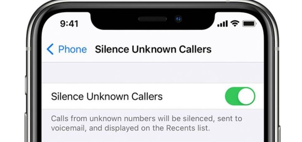 كيفية حظر مكالمات المتصلين غير المعروفين Ws3sue10
