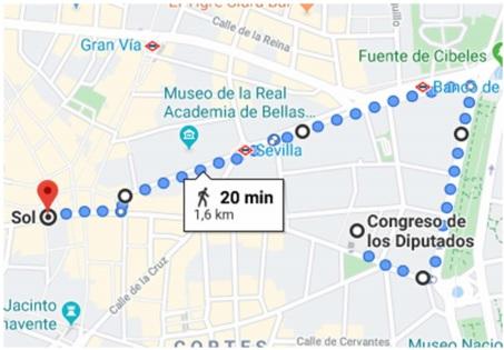 MANIFESTACIÓN AUTOCARAVANISTA EN MADRID EL 3 ABRIL 2020 Recorr10