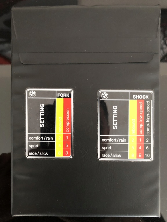 Réglages fourche origine S1000RR 2012 Img_7610