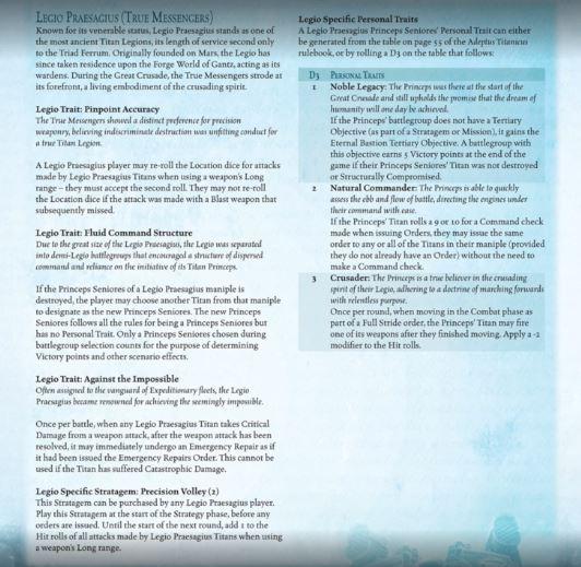 [Adeptus Titanicus] Nouveautés - Page 12 Legio_11