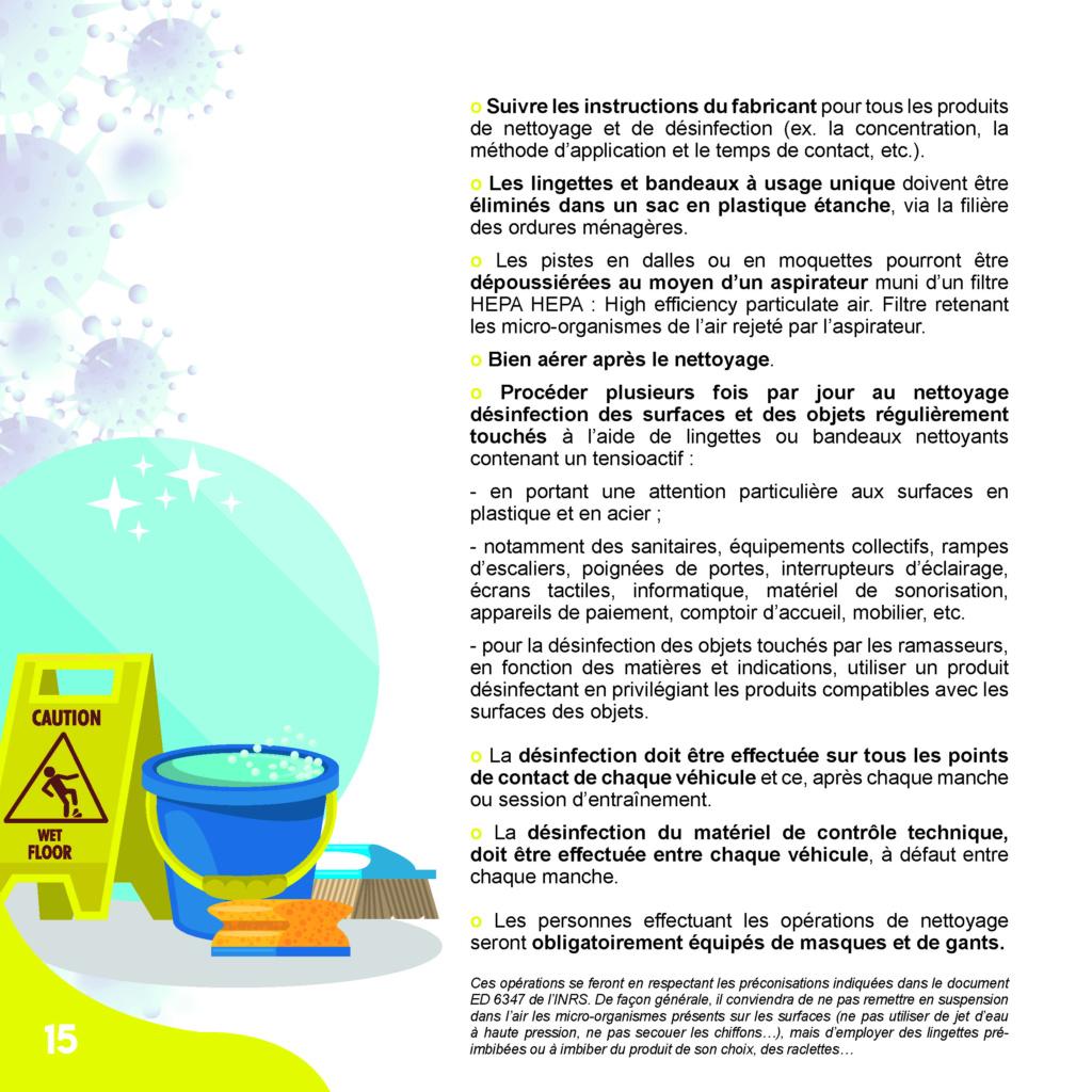 Protocole Sanitaire - Mesures Barrières - Section Modélisme Radiocommandé 1/28 Protoc25